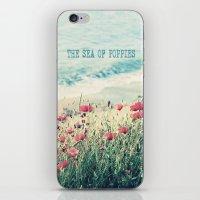 Sea Of Poppies iPhone & iPod Skin