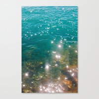So Much Water Canvas Print