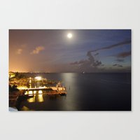 Day and Night Canvas Print