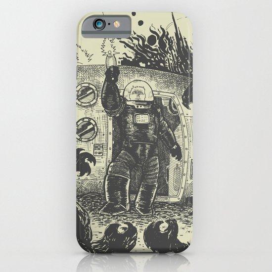 Space slugs die easy iPhone & iPod Case