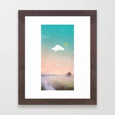 THE LAST MESSENGER Framed Art Print