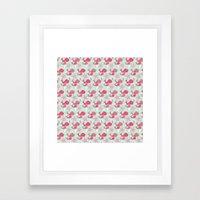 Whale Whimsy Framed Art Print