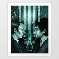 Hannibal This Is My Desi… Art Print