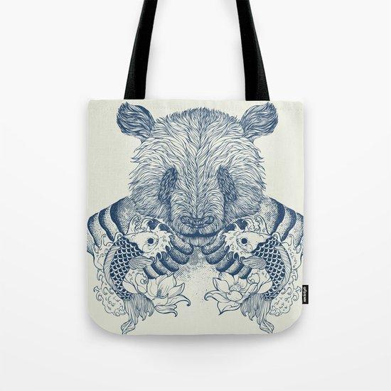 Panda Tattoo Tote Bag