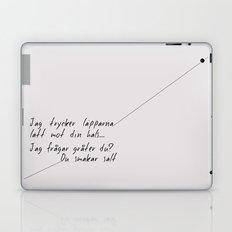 Chans Laptop & iPad Skin