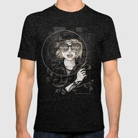 Dangerous Mind Mens Fitted Tee Tri-Black SMALL