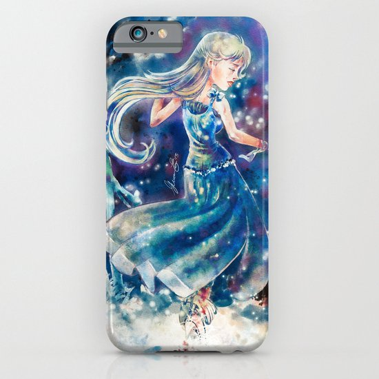 Empty Blue iPhone & iPod Case