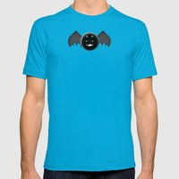 Chubby Bat Mens Fitted Tee Teal SMALL