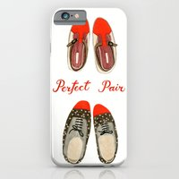 iPhone & iPod Case featuring Perfect Pair by Yuliya