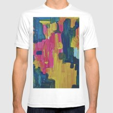 The moment SMALL White Mens Fitted Tee