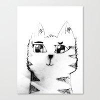 Cat For Sale Canvas Print