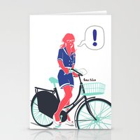 LE COOL GAL Stationery Cards