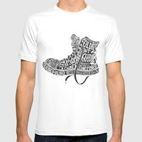 Oldies But Goodies Mens Fitted Tee White SMALL