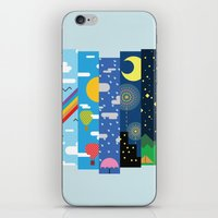 Skies iPhone & iPod Skin
