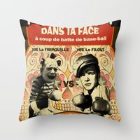 Boxe Throw Pillow