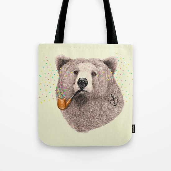 Sailor Bear Tote Bag