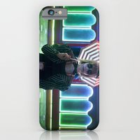 iPhone Cases featuring Elyse by Imustbedead