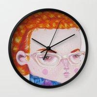 Recato/Demureness Wall Clock