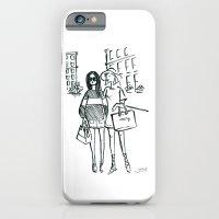 Brush Pen Fashion Illustration - Friends iPhone 6 Slim Case