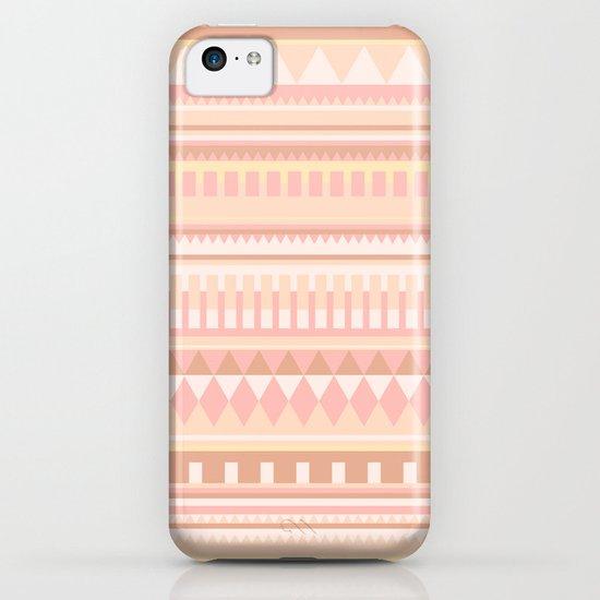 Peach Pattern iPhone & iPod Case