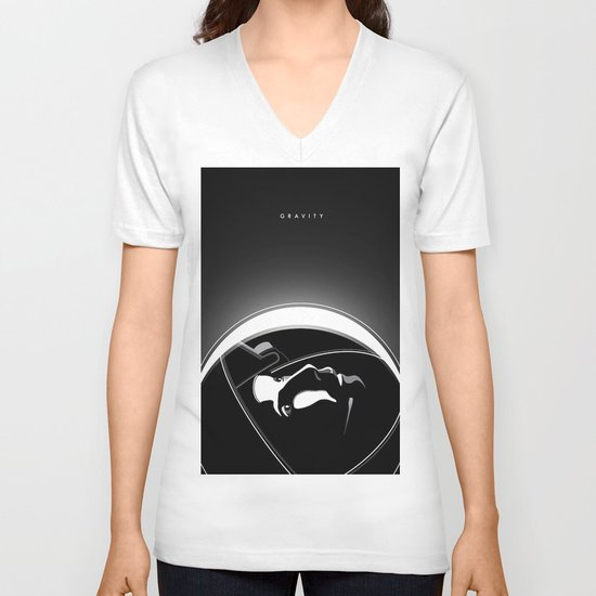 Gravity V-neck T-shirt