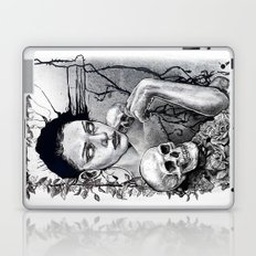 Skull Girl Nouveau Laptop & iPad Skin