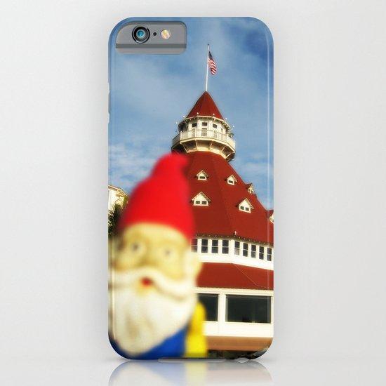 Gnorman visits the Hotel Del Coronado iPhone & iPod Case