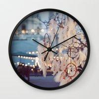 Dreamcatcher. Wall Clock