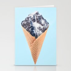 ICE CREAM MOUNTAIN Stationery Cards
