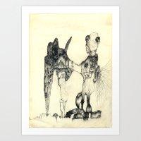 Snapshot Art Print