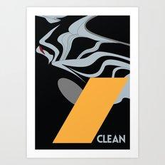 Drive - Clean Art Print