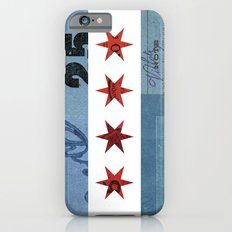 Ephemeral Chicago Flag Slim Case iPhone 6s