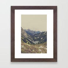 Mountain Flowers Framed Art Print