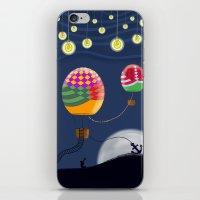 BALLOON NIGHT iPhone & iPod Skin