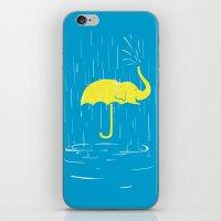 Umbrellaphant iPhone & iPod Skin