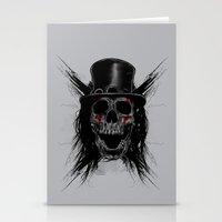 Skull Hat Stationery Cards