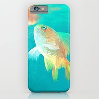 iPhone & iPod Case featuring Goldfish by Elena Gianniki