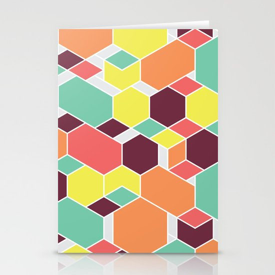 Hex P II Stationery Card