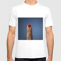 Dedo Mens Fitted Tee White SMALL