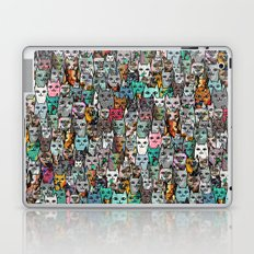 Gemstone Cats Laptop & iPad Skin