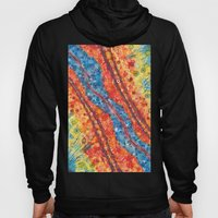 Water and lava Hoody