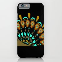iPhone & iPod Case featuring peacock by Lockyisliving