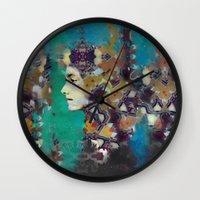 Kelp Queen Wall Clock