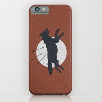 iPhone & iPod Case featuring Wolf & Arrow by Zeke Tucker