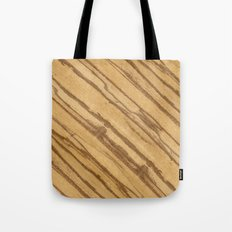 Divida Wood Tote Bag