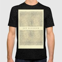 Joy Division Mens Fitted Tee Tri-Black SMALL
