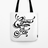 Cigars On Ice Tote Bag