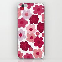 cherry blossom pop iPhone & iPod Skin