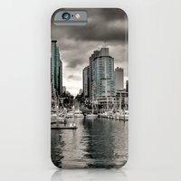 iPhone & iPod Case featuring Vancouver Waterfront by Anthony M. Davis