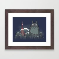 My Angry Neighbor Framed Art Print